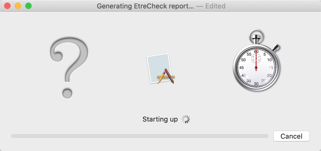 小麦准备开启EtreCheck做个检测哟