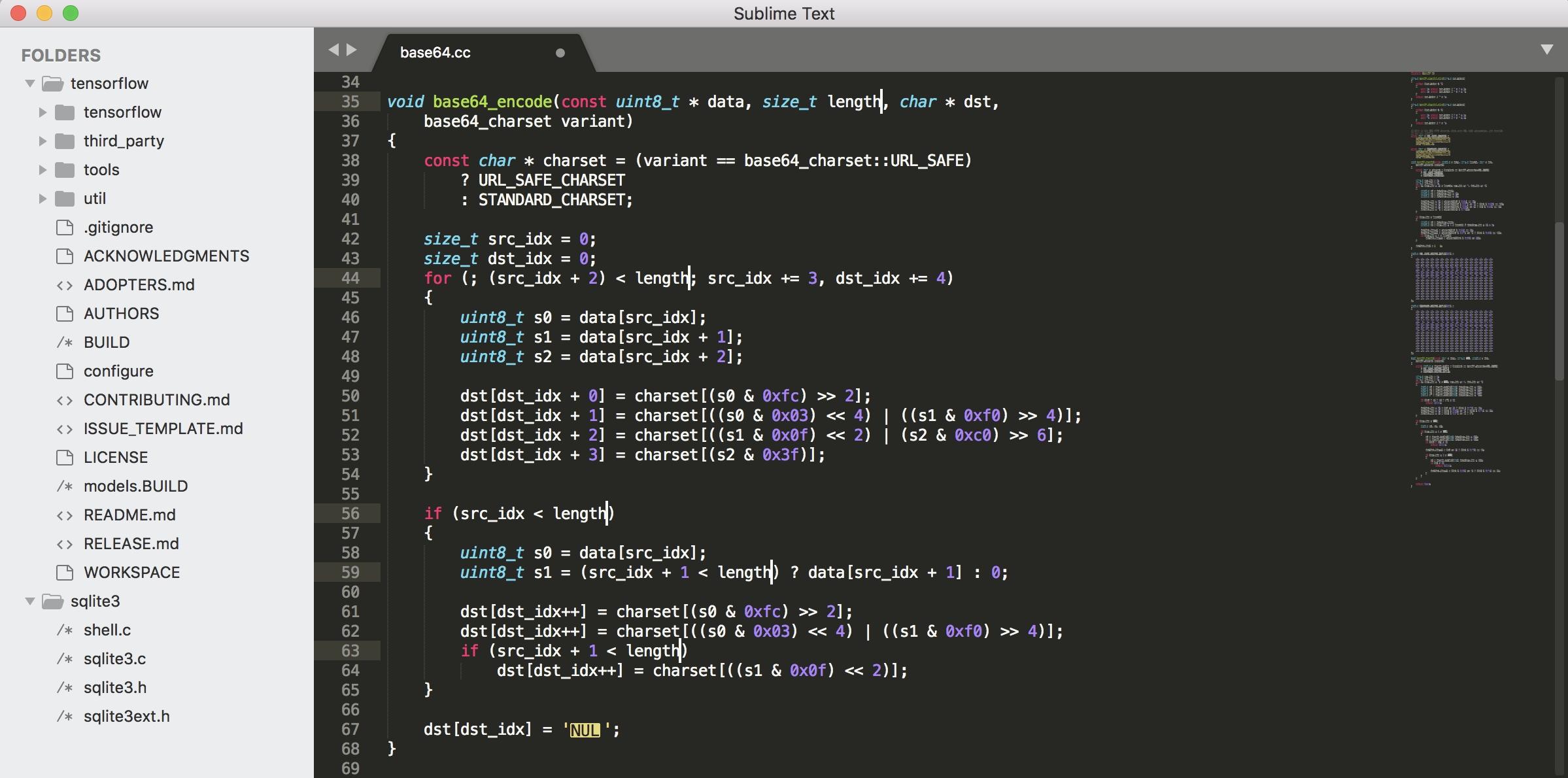 用来编写代码也是非常好用