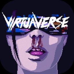 《虚拟宇宙》 VirtuaVerse 赛博朋克风冒险新游Mac版