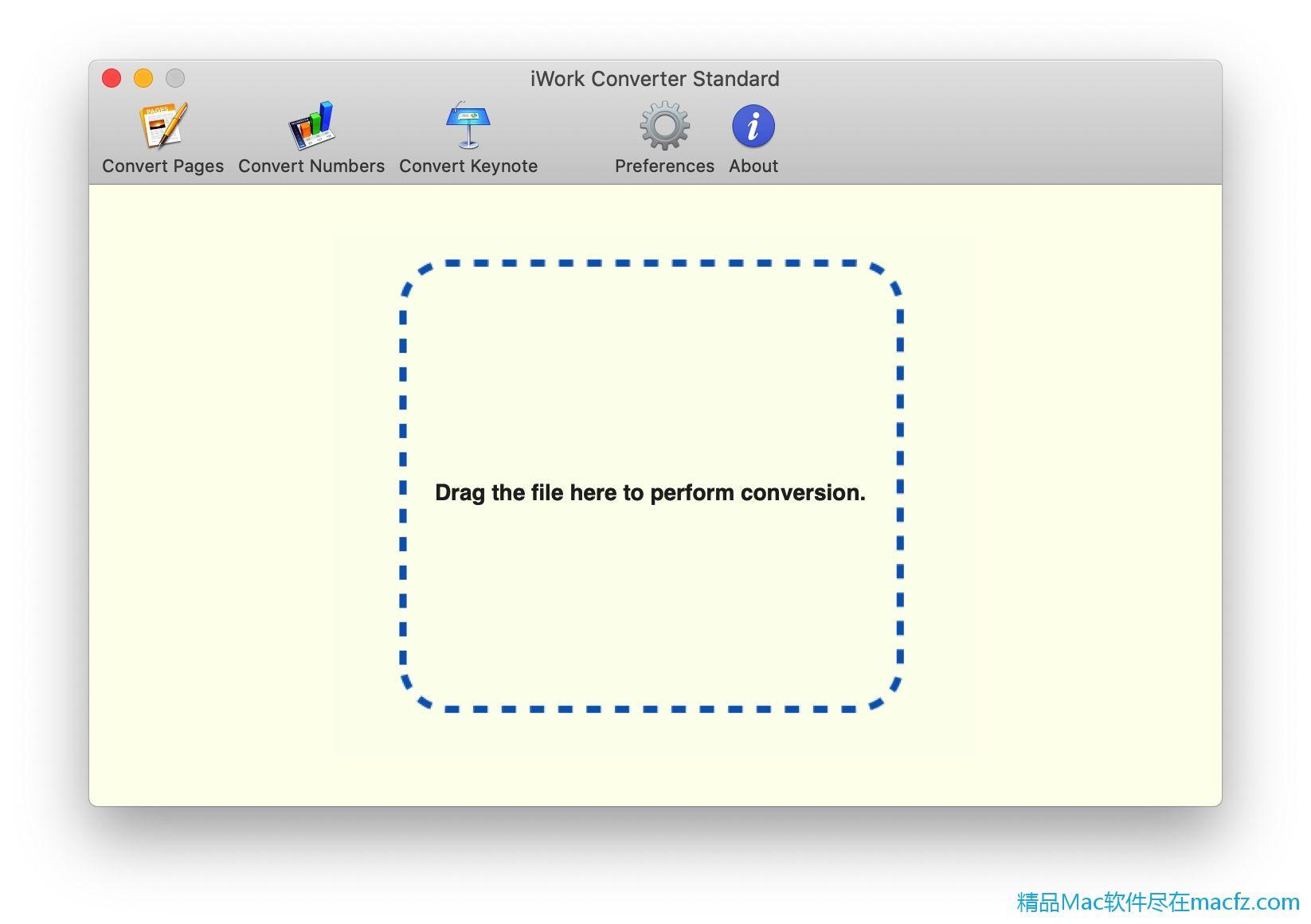 支持任何语言的iWork文件。它可以转换iWork可以打开的任何文件。